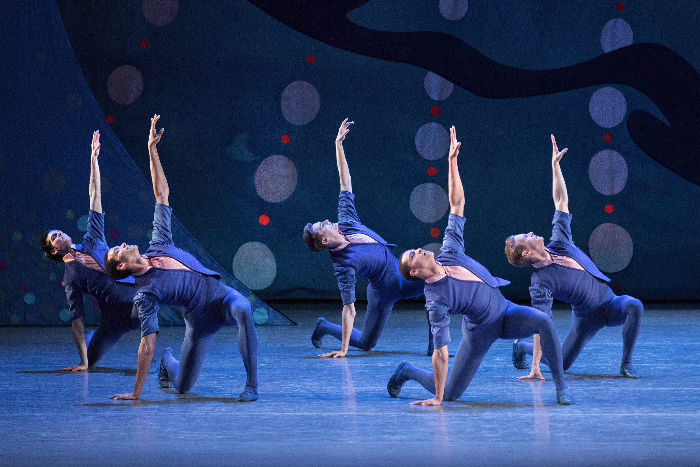 New York City Ballet Ensemble in American Rhapsody by Christopher Wheeldon