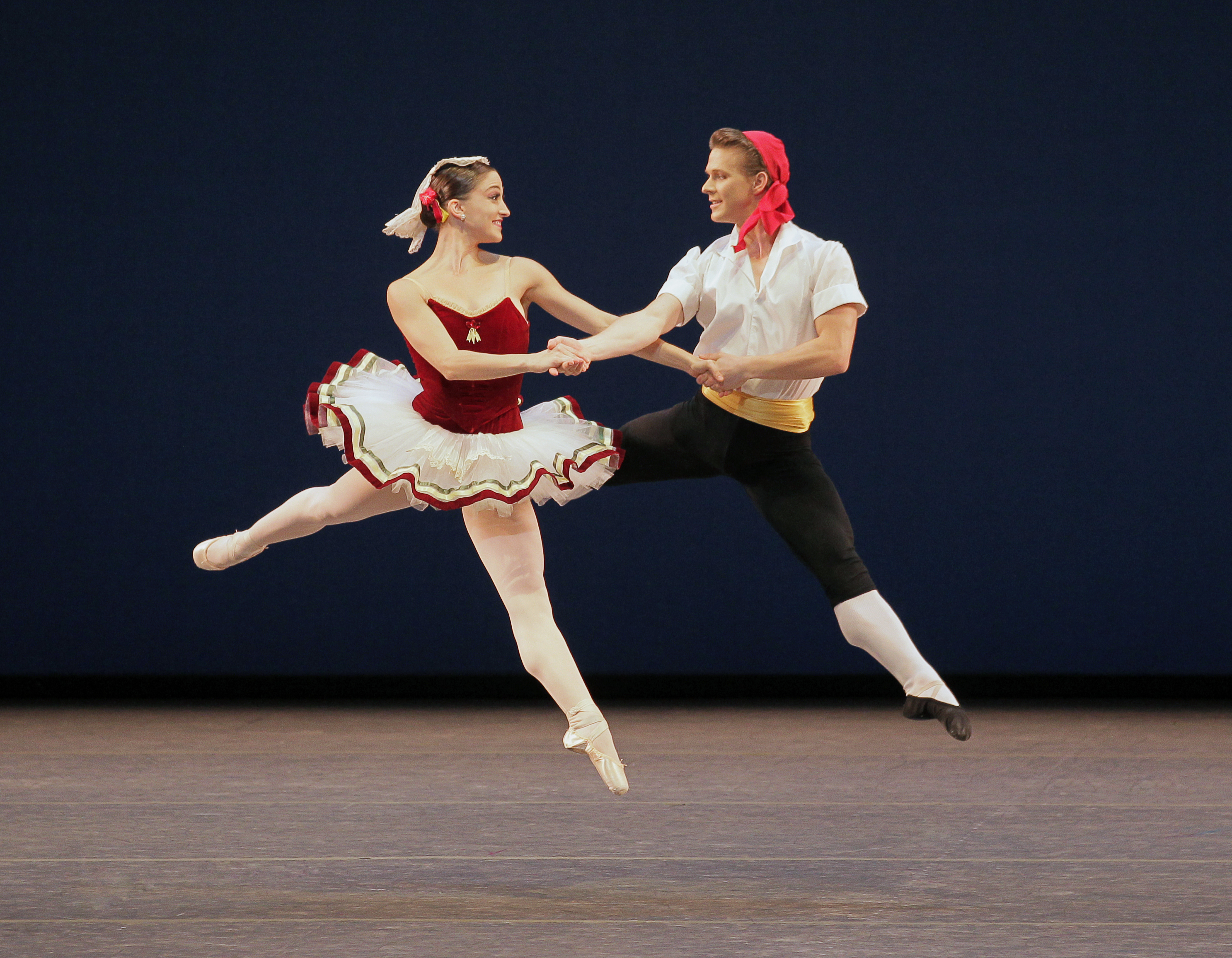 Ashley Bouder, Daniel Ulbricht in Tartantella by George Balanchine