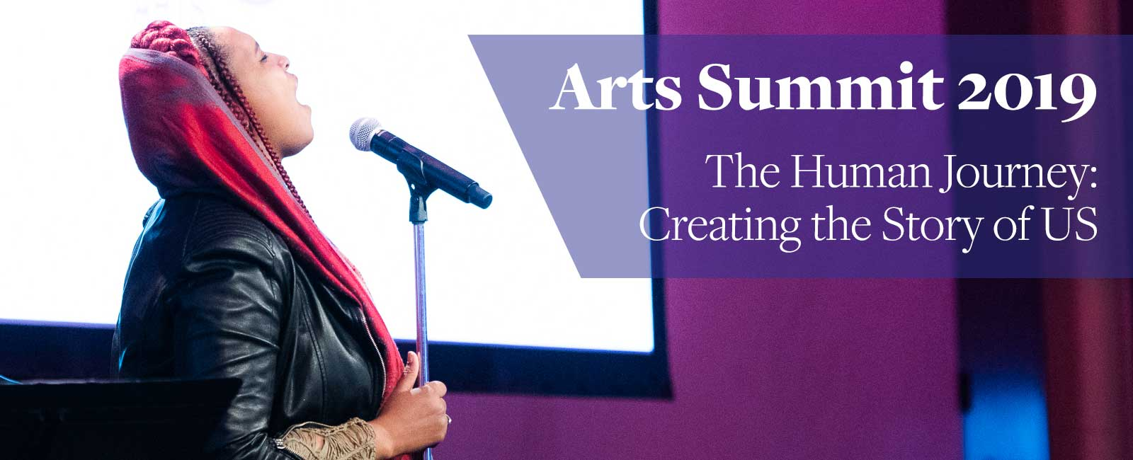 The Kennedy Center Arts Summit 2019, The Human Journey: Creating the Story of US