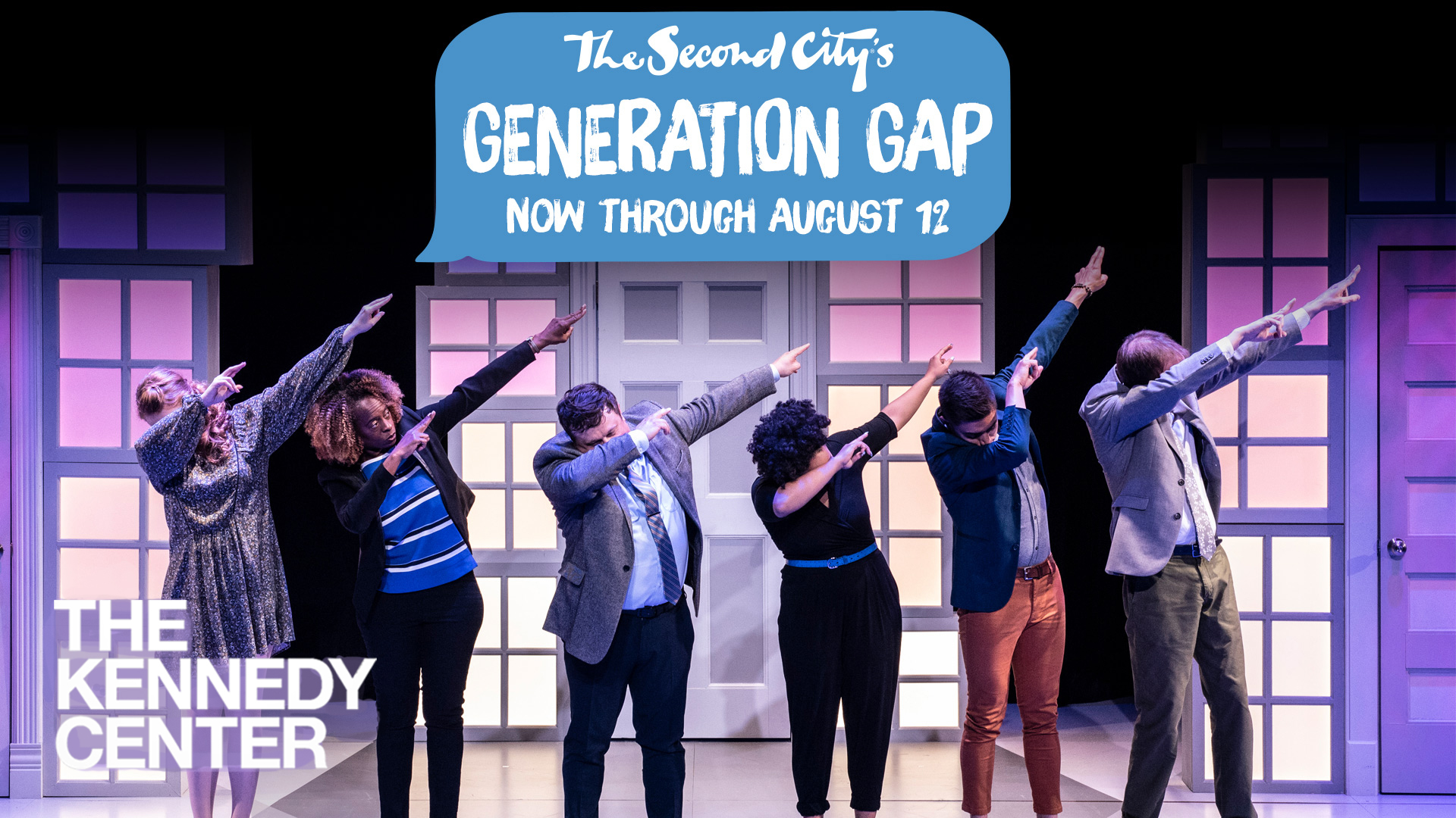 The Second City's Generation Gap at The Kennedy Center