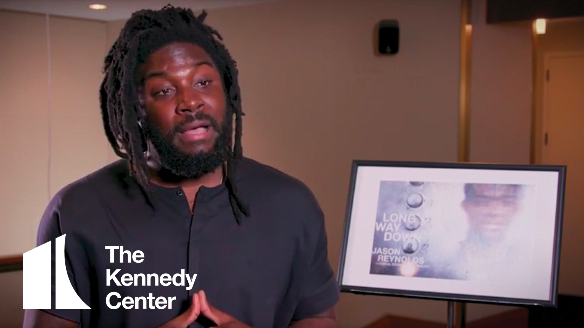 Jason Reynolds, author of Long Way Down