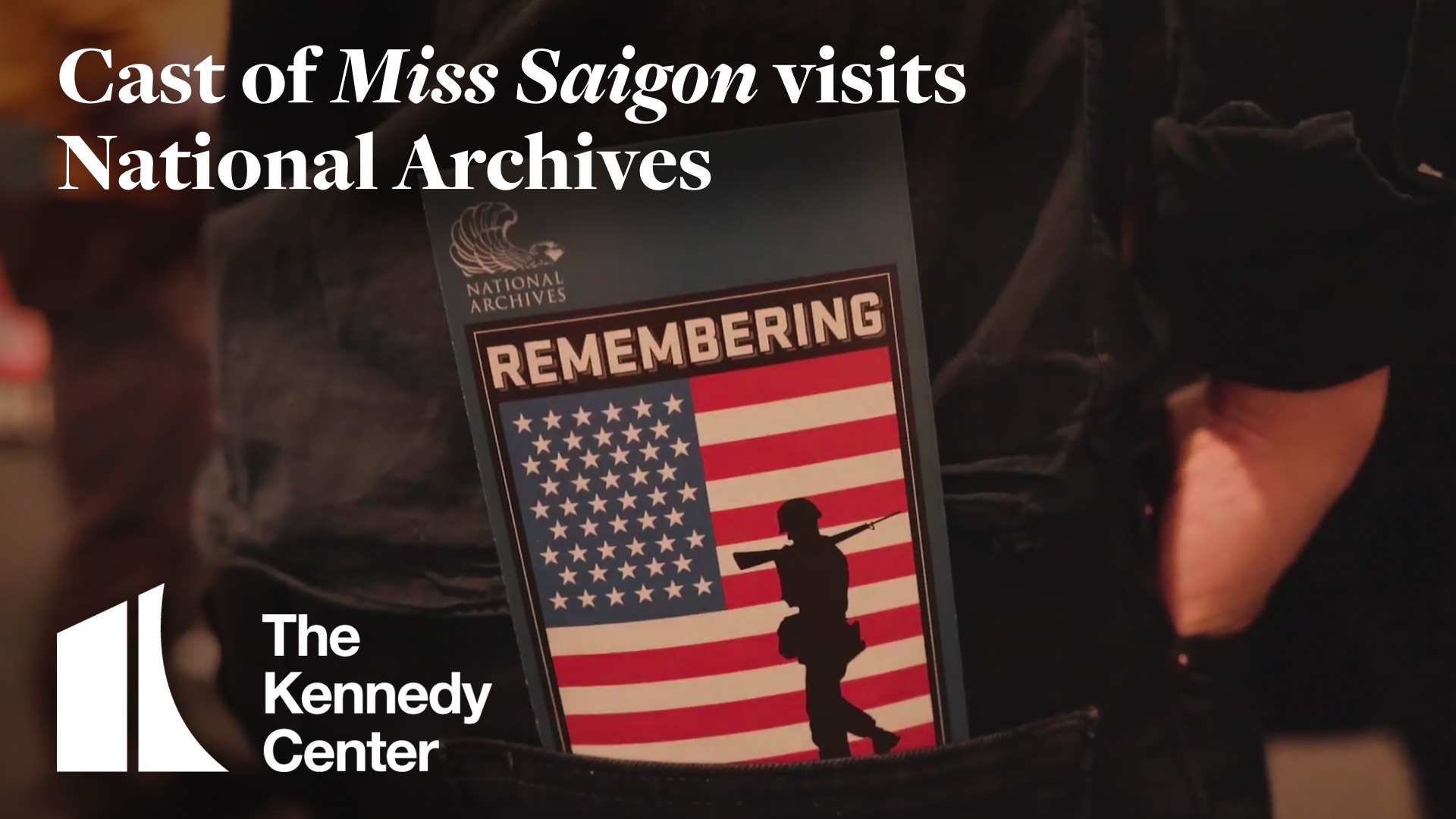 Cast of Miss Saigon Visits National Archives