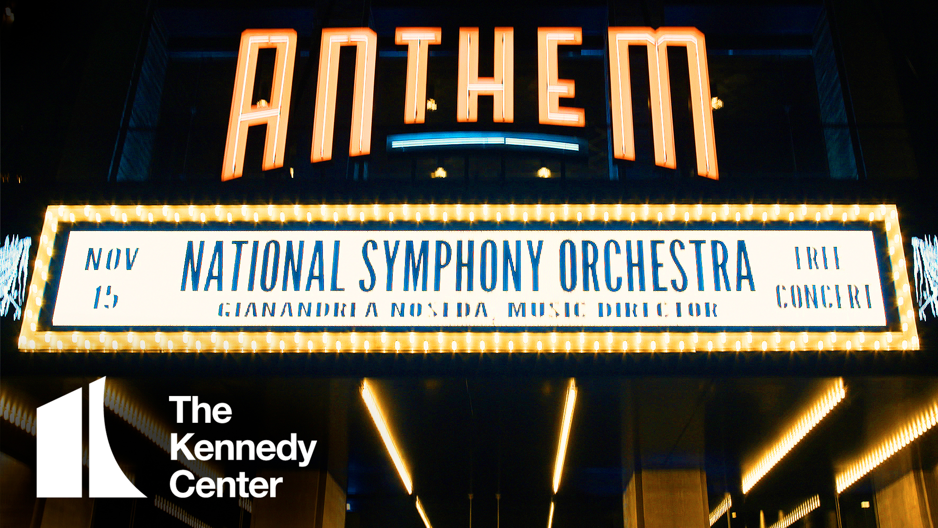 See the National Symphony Orchestra at The Anthem in DC!