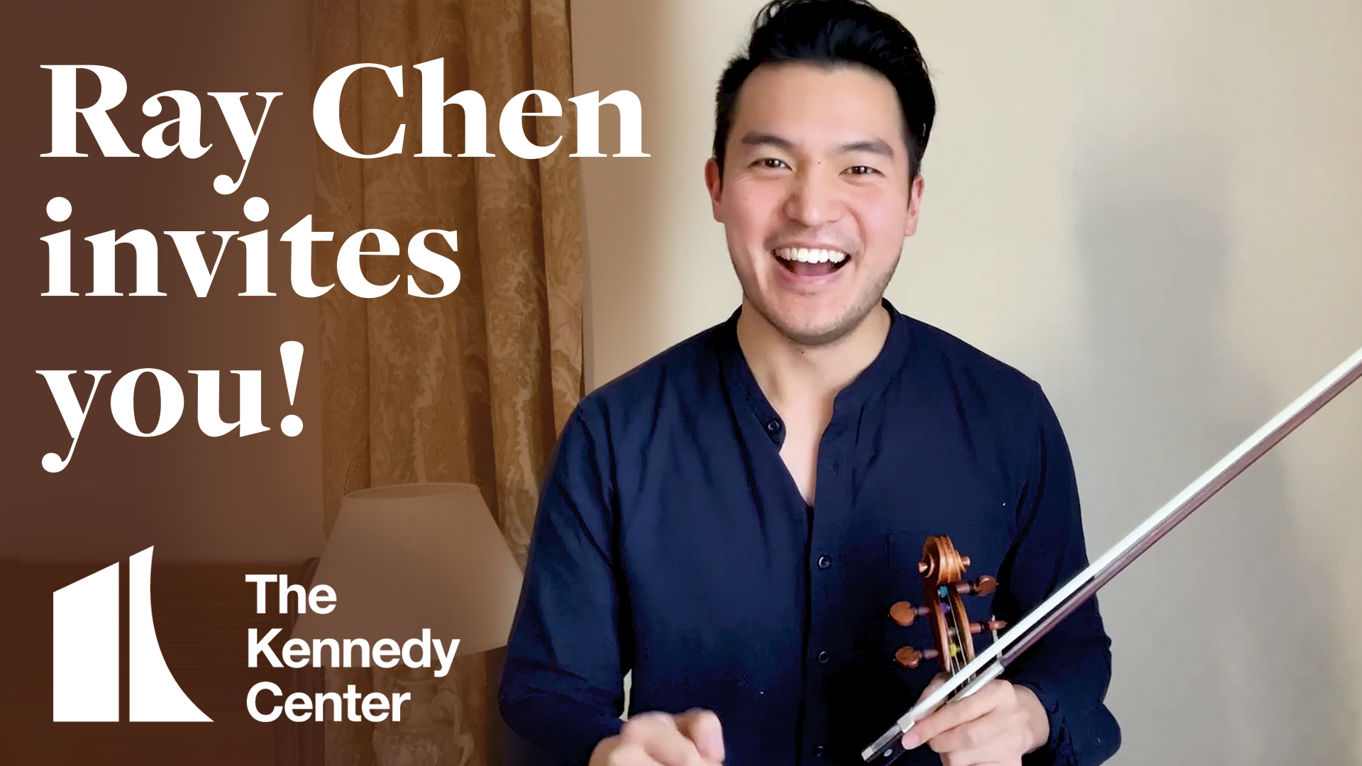 Ray Chen invites you! | Mendelssohn's Violin Concerto at The Kennedy Center