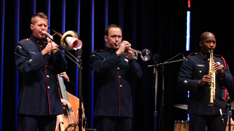 The United States Coast Guard Dixieland Jazz Band