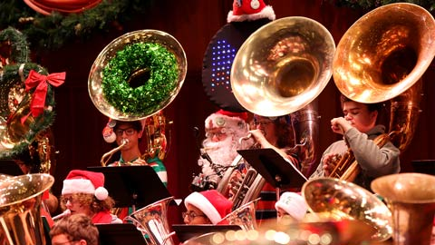 Target Family Night: <em>MERRY TUBACHRISTMAS!</em>