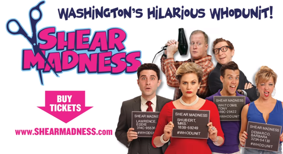 Shear Madness at the Kennedy Center