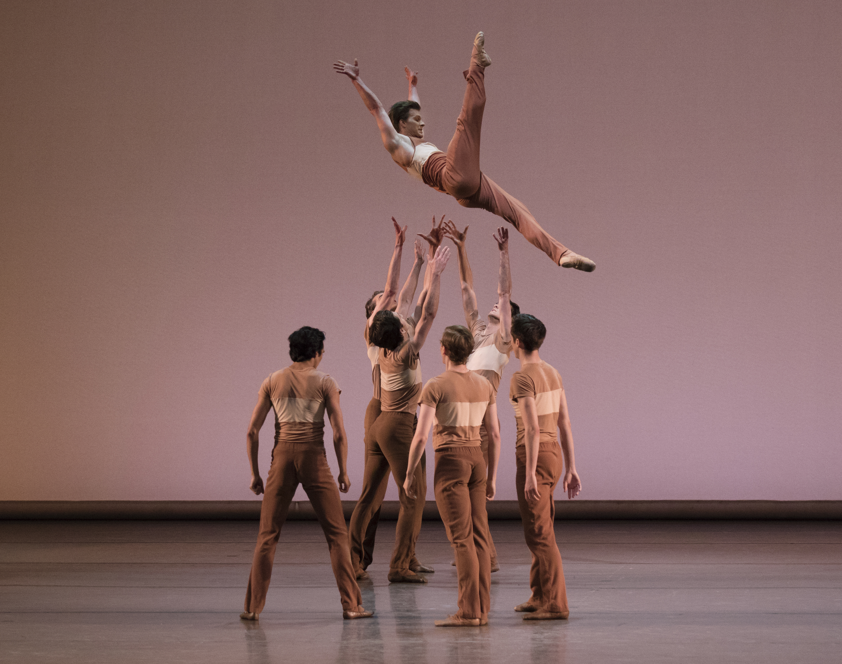 Daniel Ulbricht with Ensemble in Rodeo: Four Dance Episodes by Justin Peck