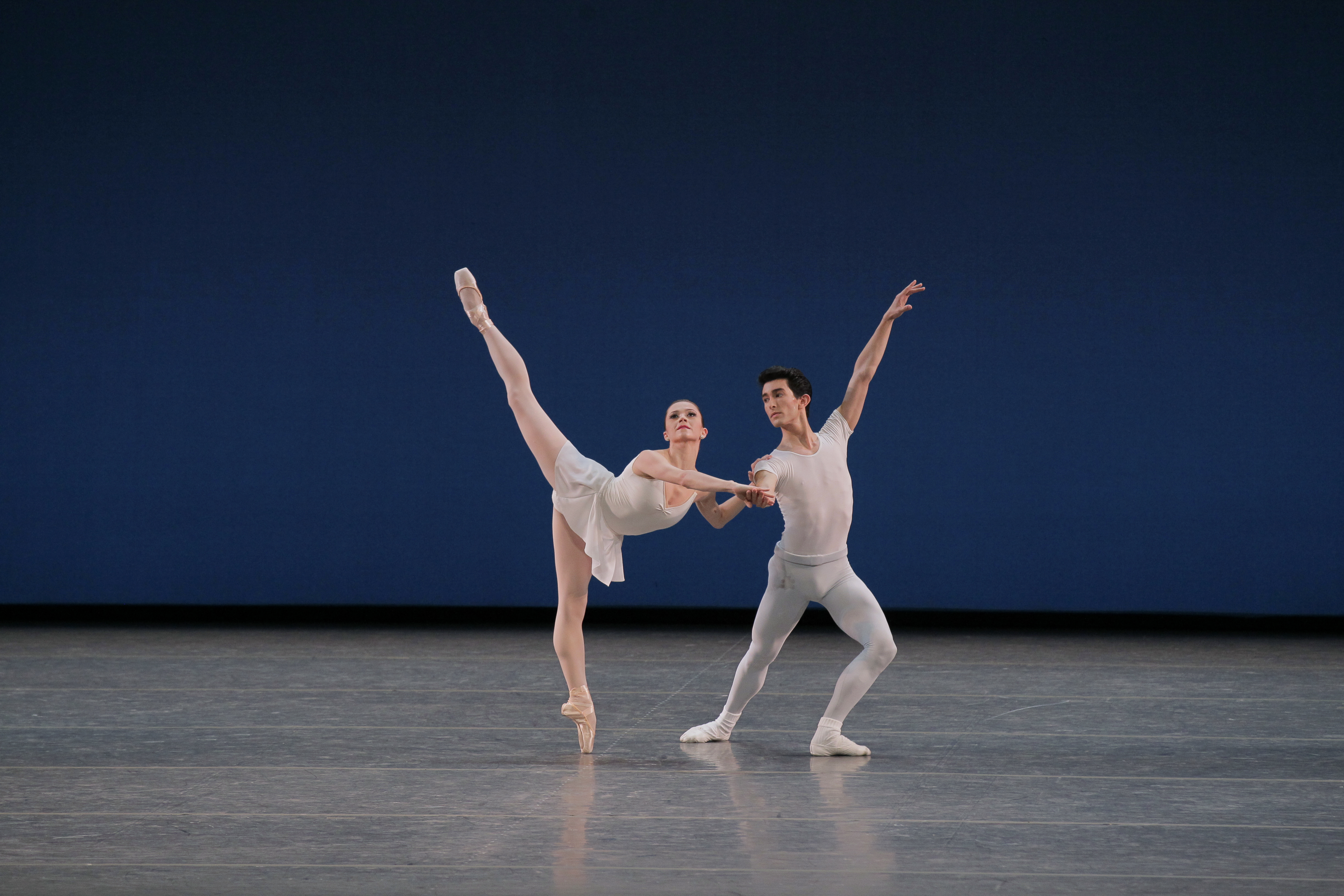 Megan Fairchild, Anthony Huxley in Square Dance by George Balanchine