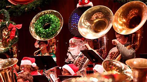 Tuba Christmas.Merry Tuba Christmas The John F Kennedy Center For The