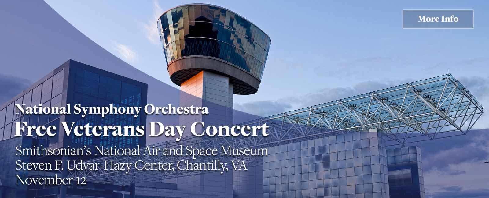 NSO Veterans Day Concert