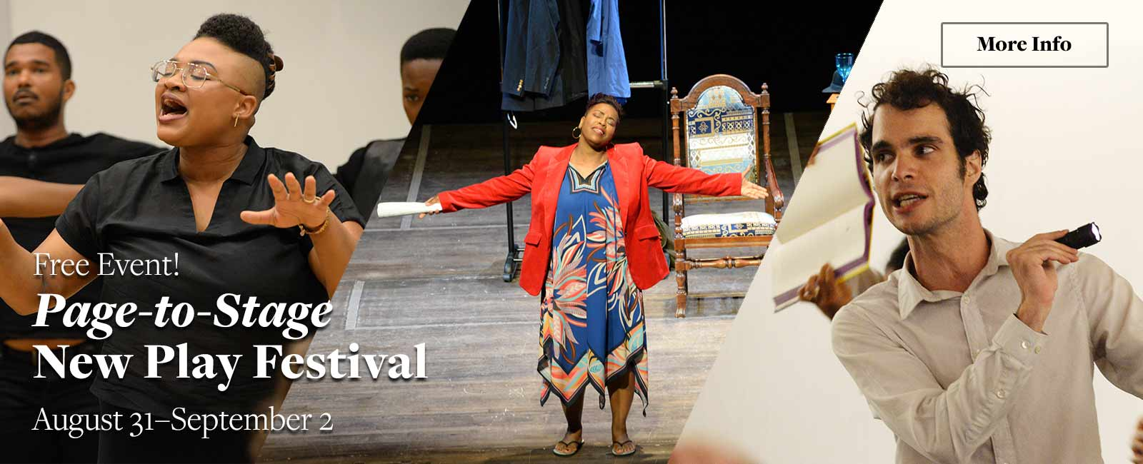 Page-to-Stage New Play Festival
