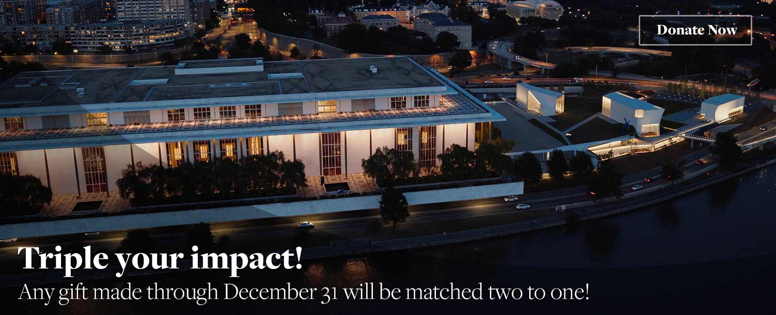 Triple your impact, give by December 31