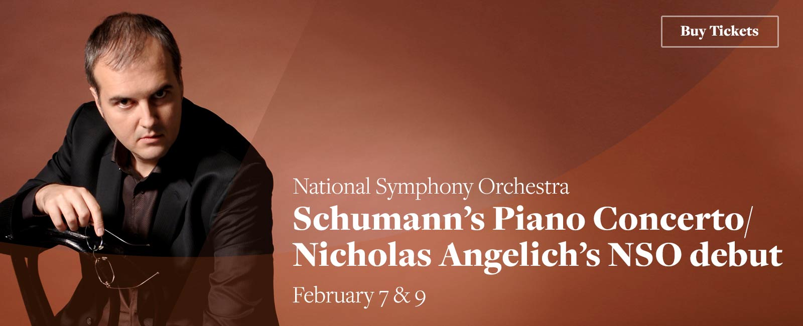 Schumann's Piano Concerto / Noseda conducts Angelich's NSO debut