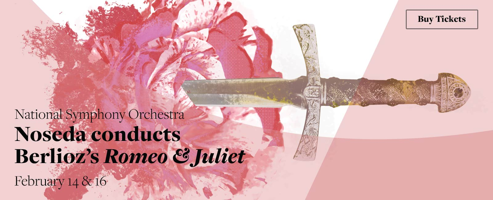 National Symphony Orchestra: Noseda conducts Berlioz's Romeo & Juliet