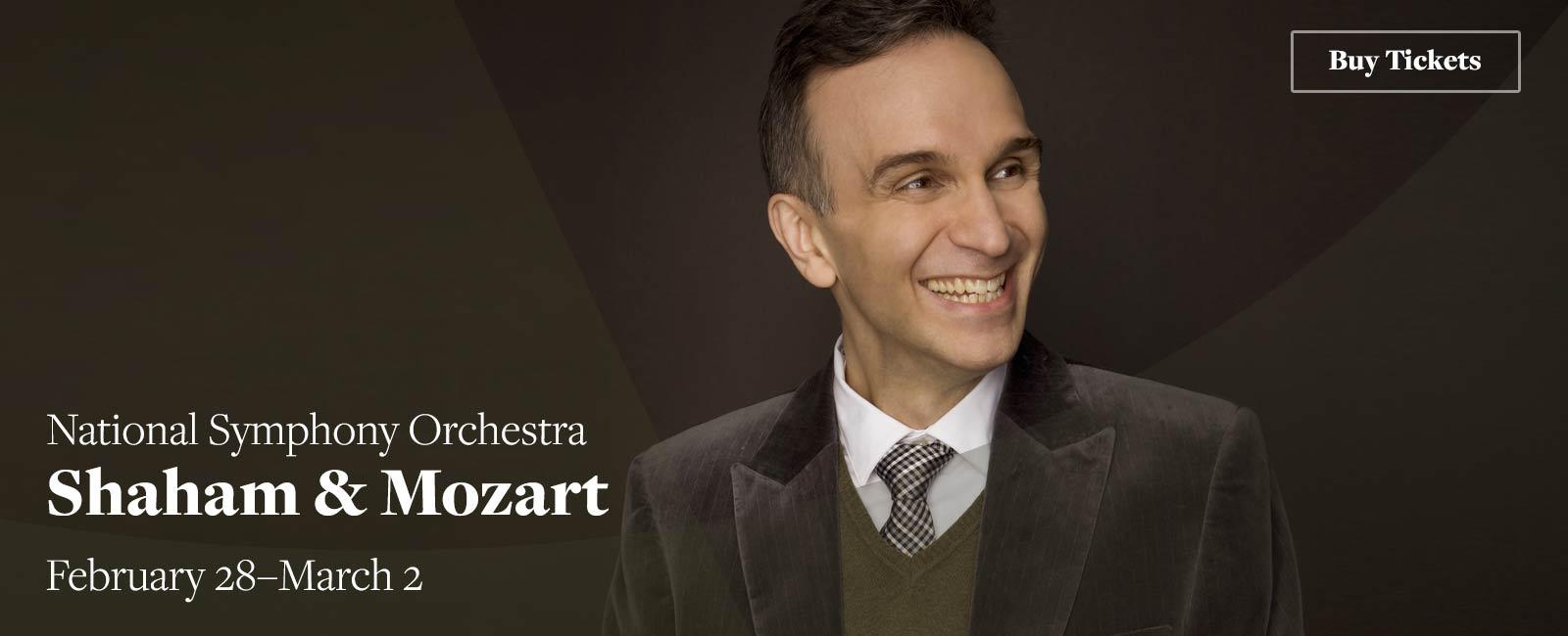 National Symphony Orchestra: Shaham & Mozart