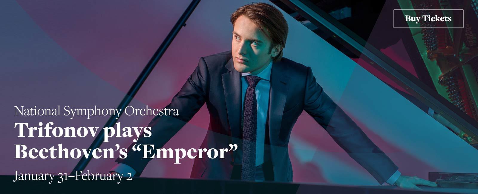 """Trifonov plays Beethoven's """"Emperor"""""""