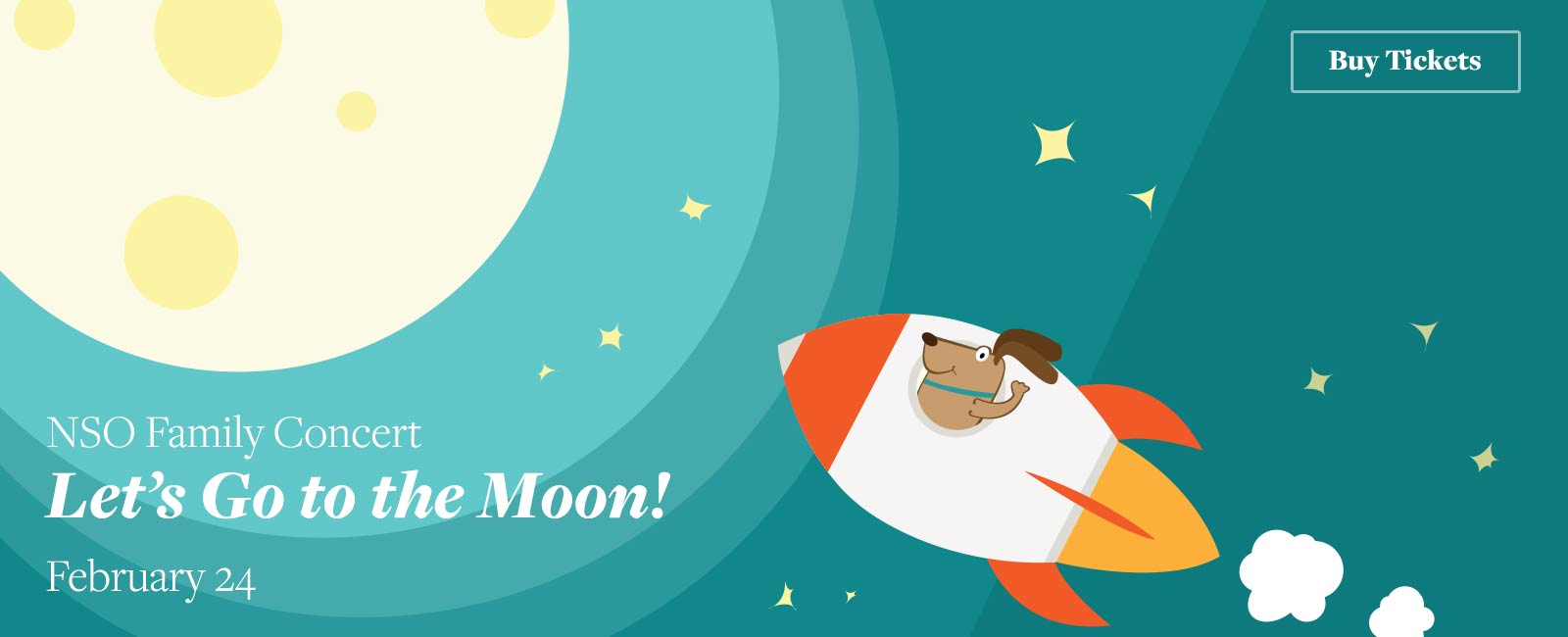 NSO Family Concert: Let's Go to the Moon!