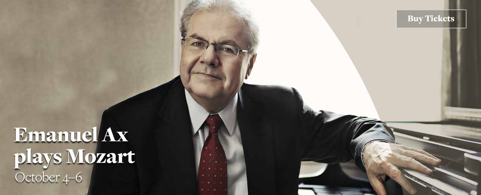 Emanuel Ax plays Mozart