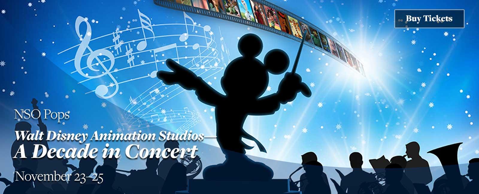 Walt Disney Animation Studios--A Decade in Concert