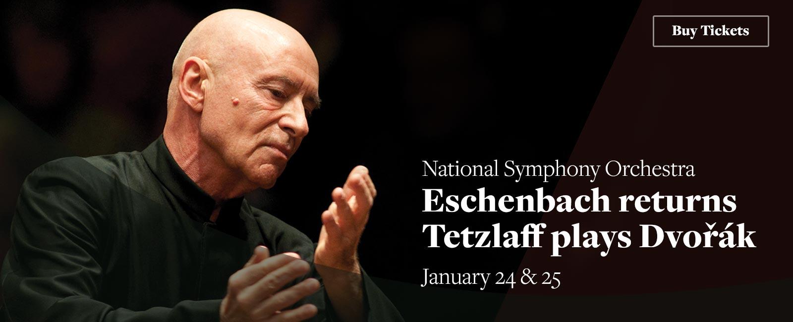 Eschenbach returns