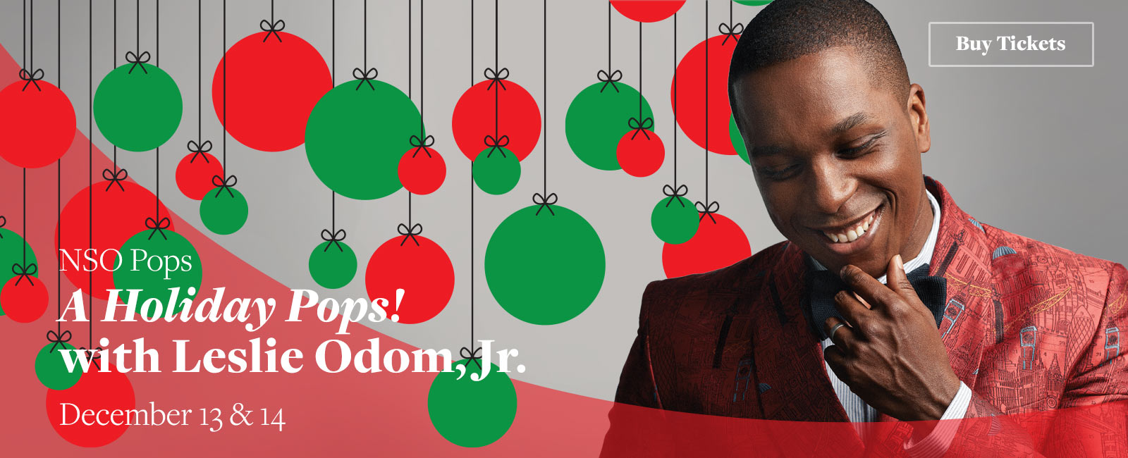 A Holiday Pops! with Leslie Odom, Jr.