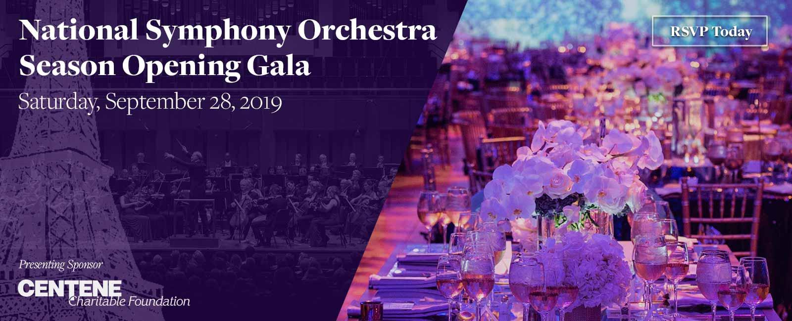 NSO 2019 Season Opening Gala