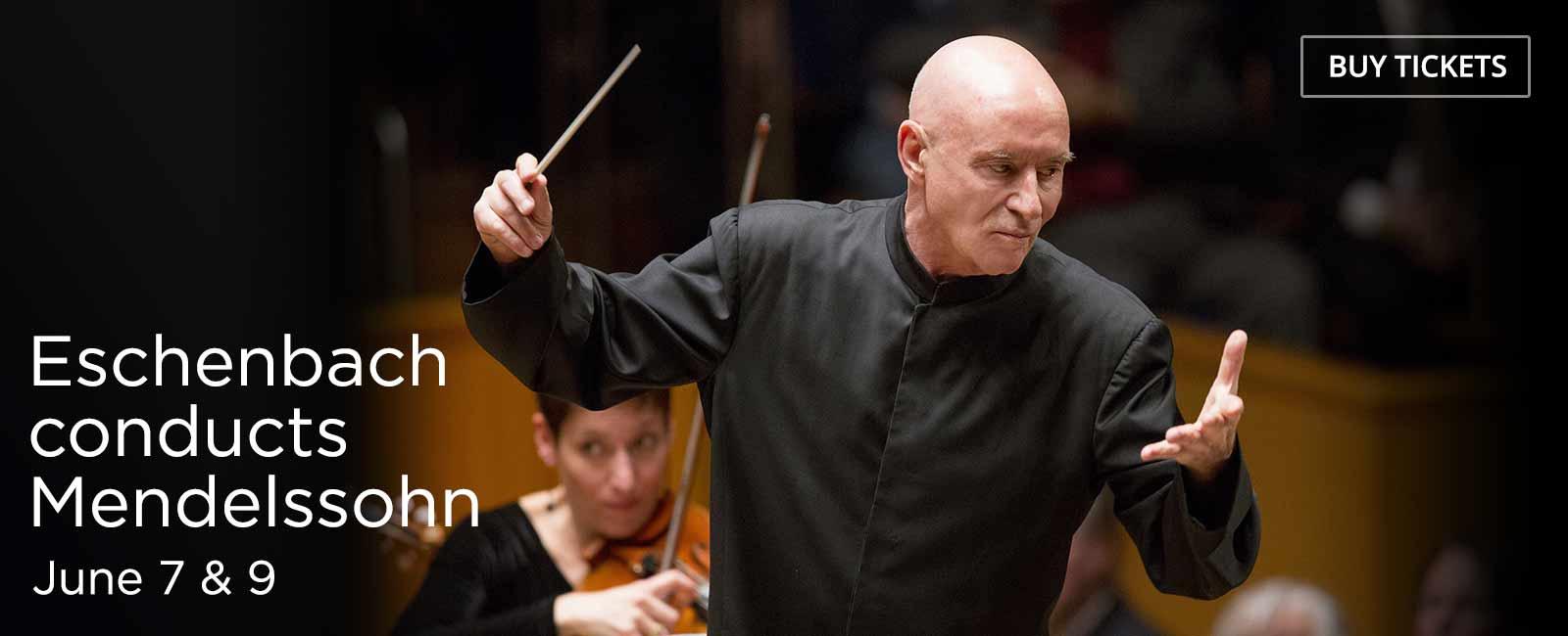 Eschenbach Conducts Mendelssohn