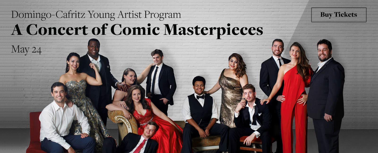 Domingo-Cafritz Young Artist Program: A Concert of Comic Masterpieces