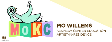 Mo Willems as Kennedy Center Education Artist-in-Residence