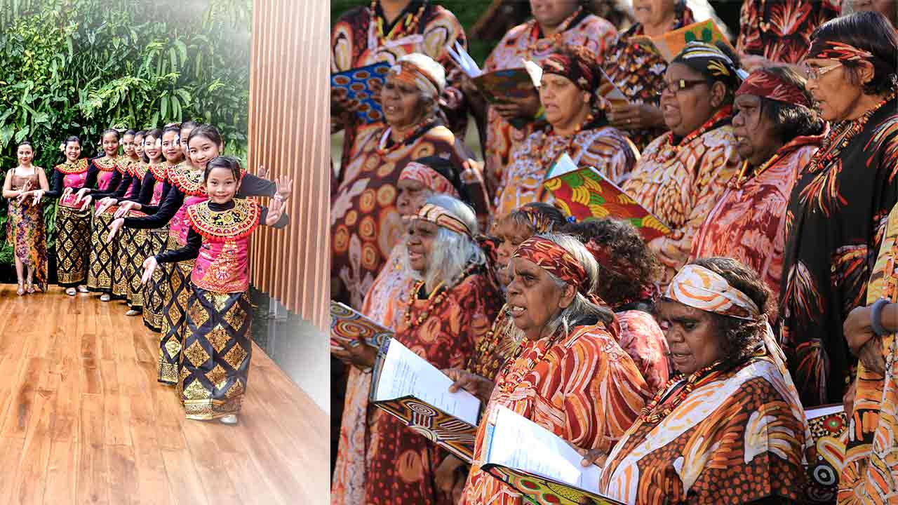 <em>Serenade!</em>&nbsp;Choral Festival: Central Australian Aboriginal Women's Choir &amp;&nbsp; the&nbsp;Indonesian Children and Youth Choir &ndash; Cordana