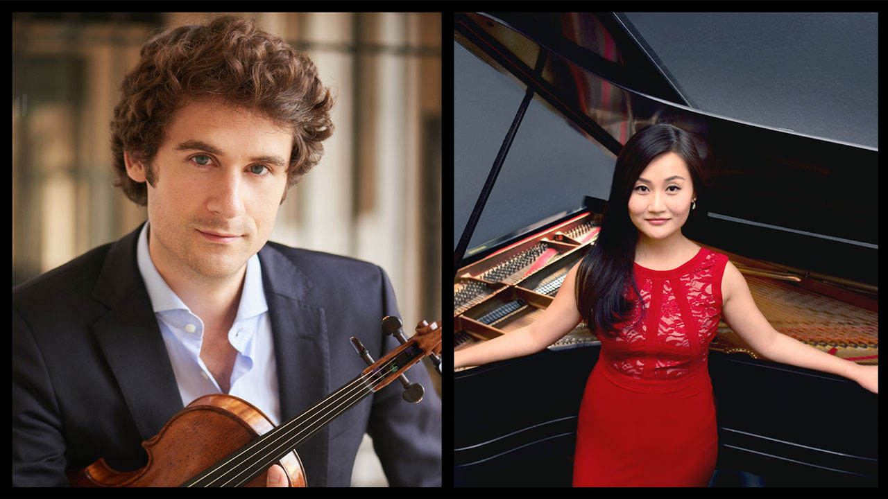 <em>&quot;Dazzling Strings&rdquo; featuring Si-Yo Artists&trade;Virgil Boutellis-Taft and Jing Yang</em>