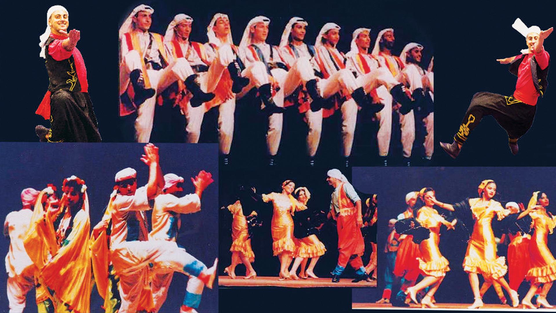 The Alexandria Folk Dance Troupe of Egypt