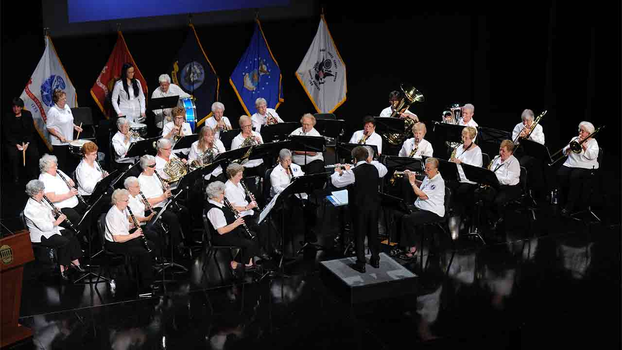 The US Women's Air Force Band