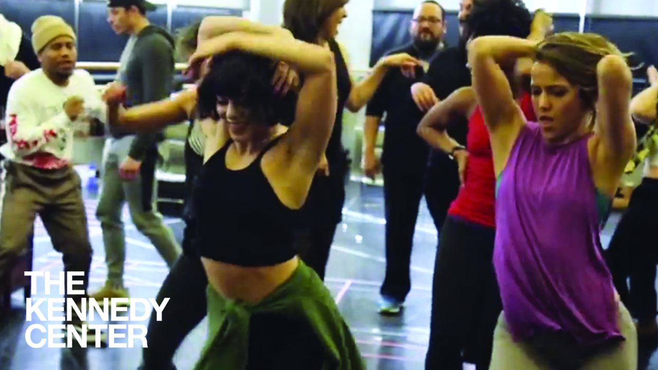 Watch Ana Villafañe & the Kennedy Center Cast of IN THE HEIGHTS Work It in the Rehearsal Room