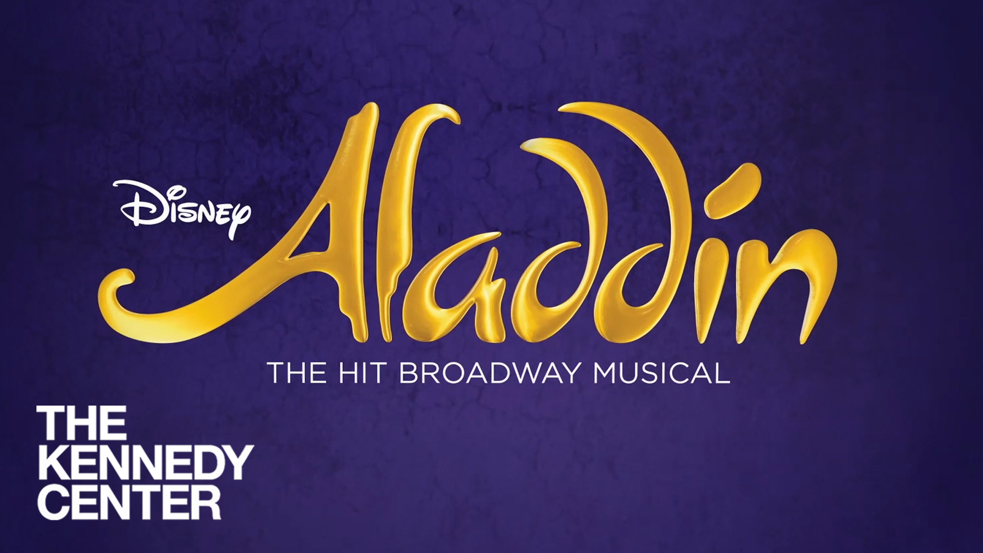 Disney's Aladdin at The Kennedy Center