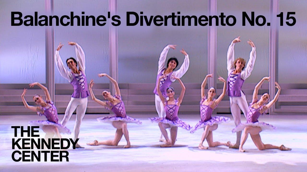 The Suzanne Farrell Ballet - Balanchine's Divertimento No. 15 - Suzanne Farrell Tribute, 2005 Honors