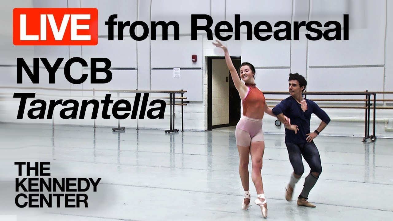 New York City Ballet - LIVE Rehearsal at The Kennedy Center: