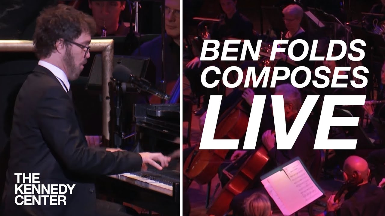Ben Folds Composes a Song LIVE for Orchestra In Only 10 Minutes