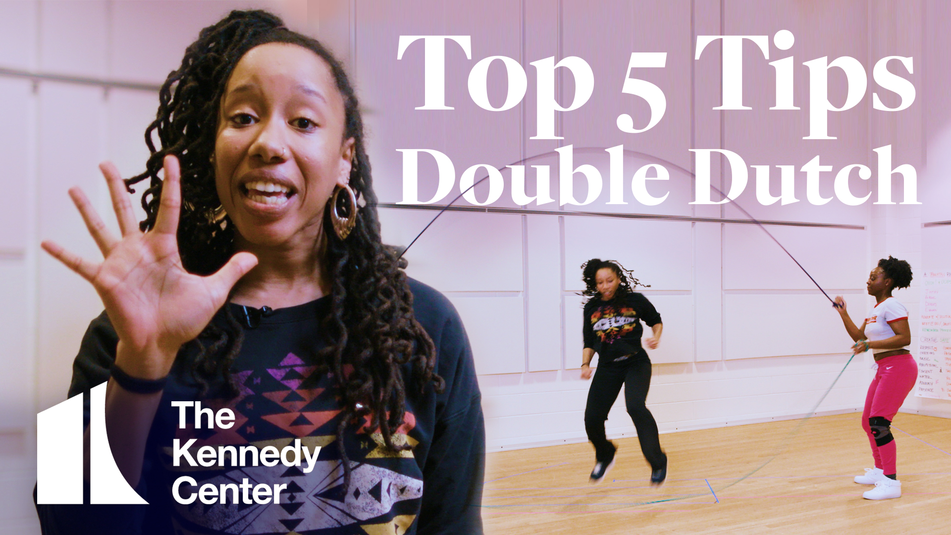 Top 5 Tips: Double Dutch with Ebony Ingram and the Cast of
