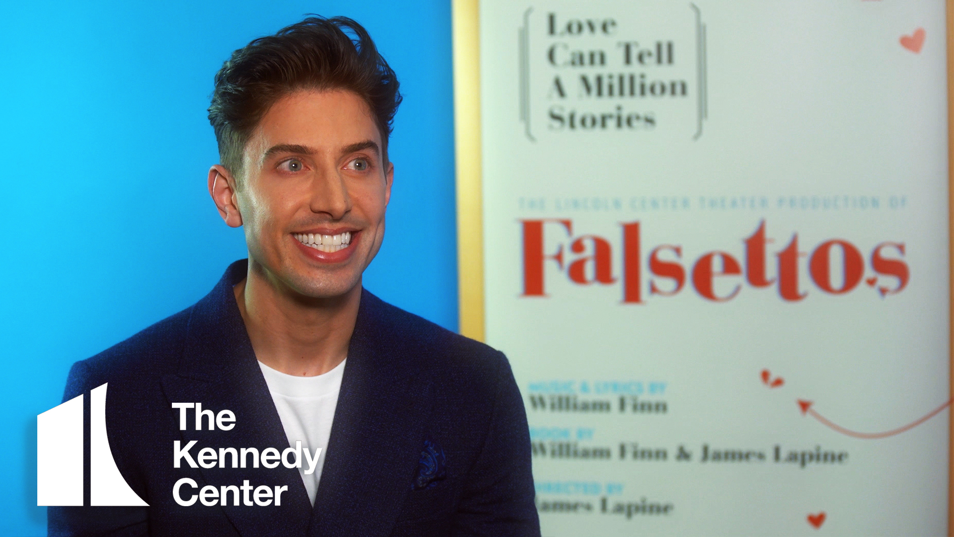 Meet Our Tight Knit Family: Nick Adams | Falsettos at The Kennedy Center