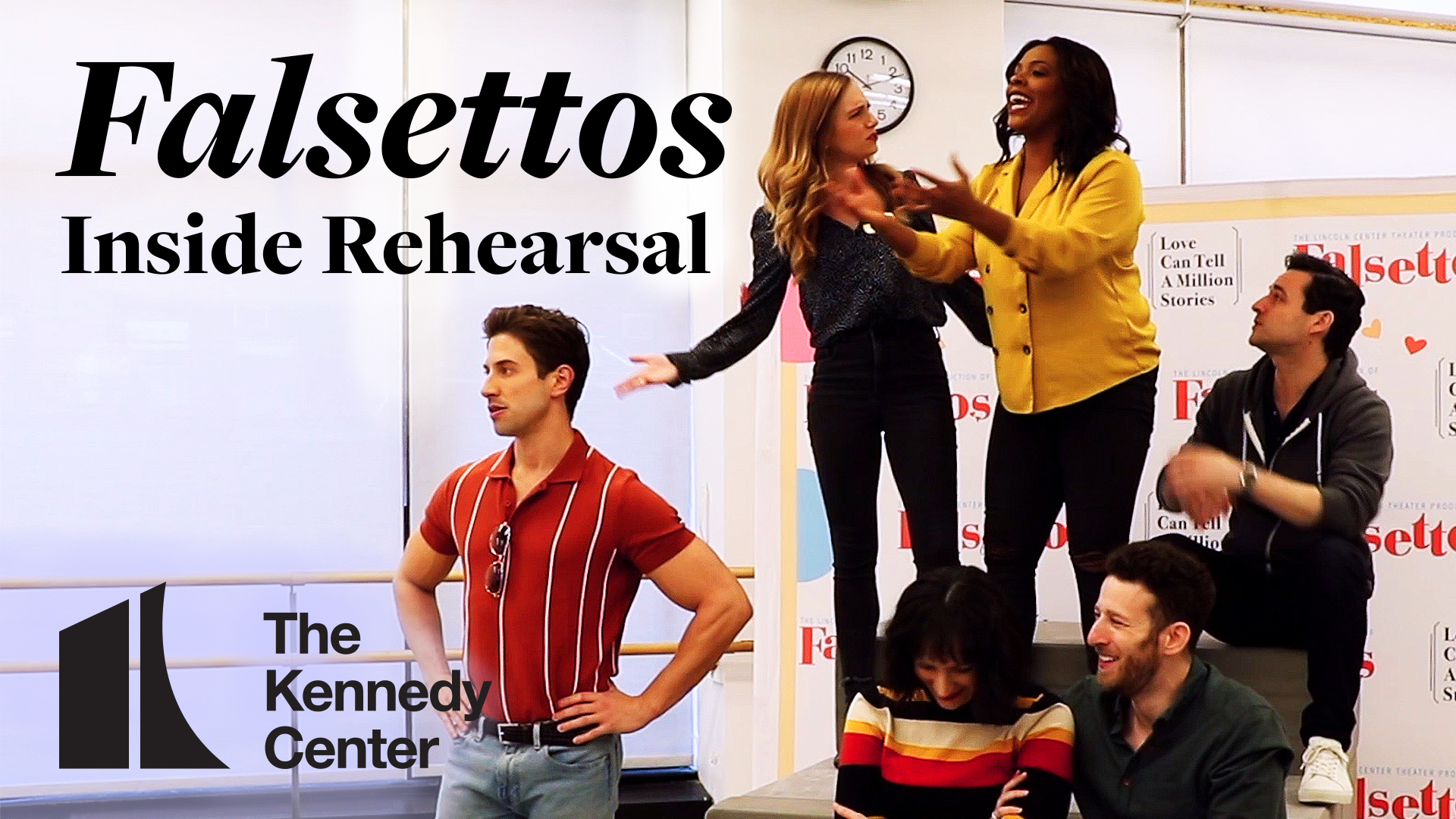 Falsettos: Inside Rehearsal | The Kennedy Center