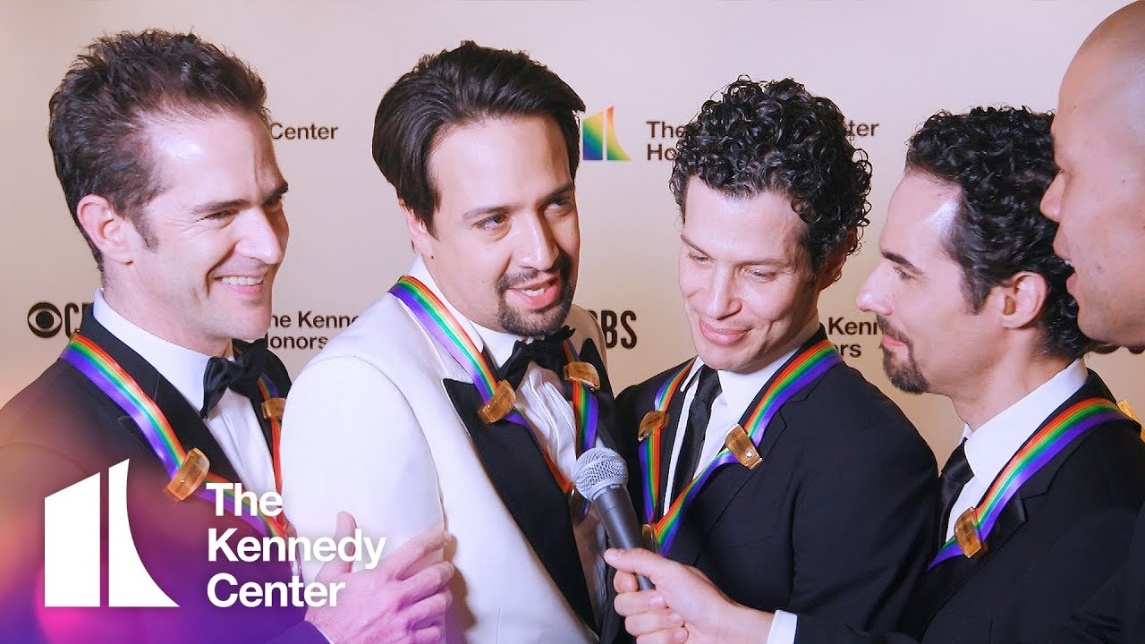Co-Creators of Hamilton | 2018 Kennedy Center Honors Red Carpet