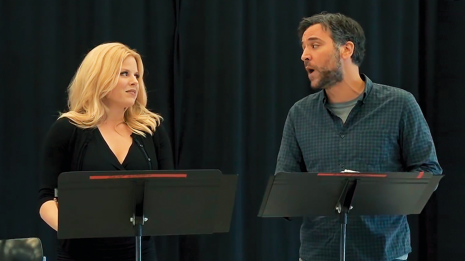 Josh Radnor, Megan Hilty, and More Take Us to Their Little Shop of Horrors