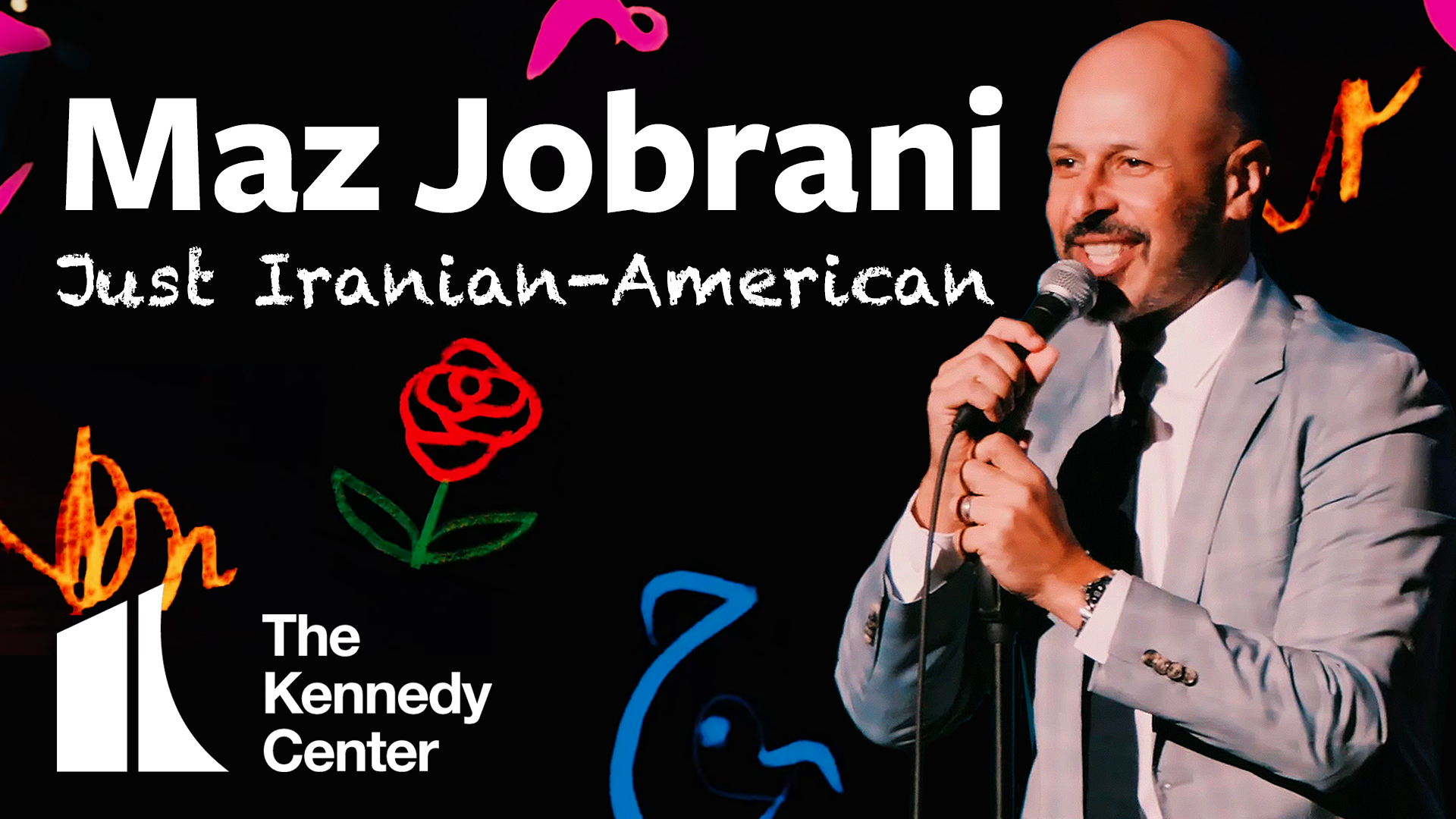 Maz Jobrani: Just Iranian-American | A Kennedy Center Digital Stage Original