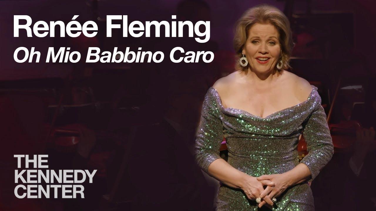 Renée Fleming sings