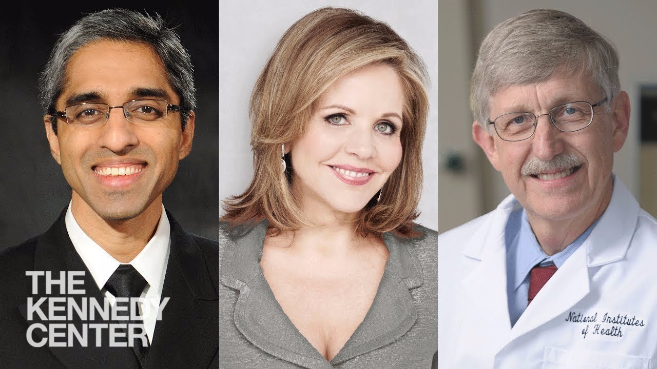 Dr. Francis Collins and Vivek Murthy   The Future of Music and the Mind