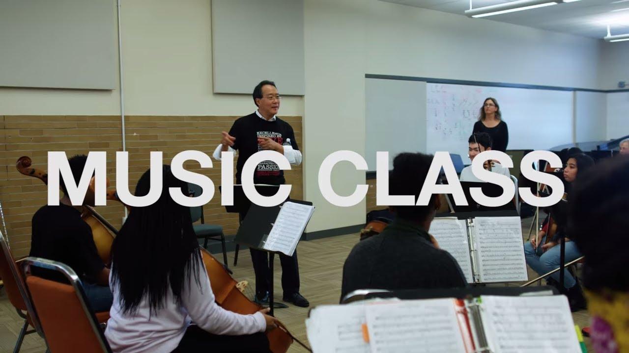 Yo-Yo Ma Visits Music Class