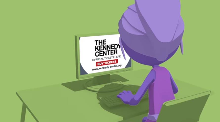 Don't be deceived – kennedy-center.org is the only official ticketing site of the Kennedy Center