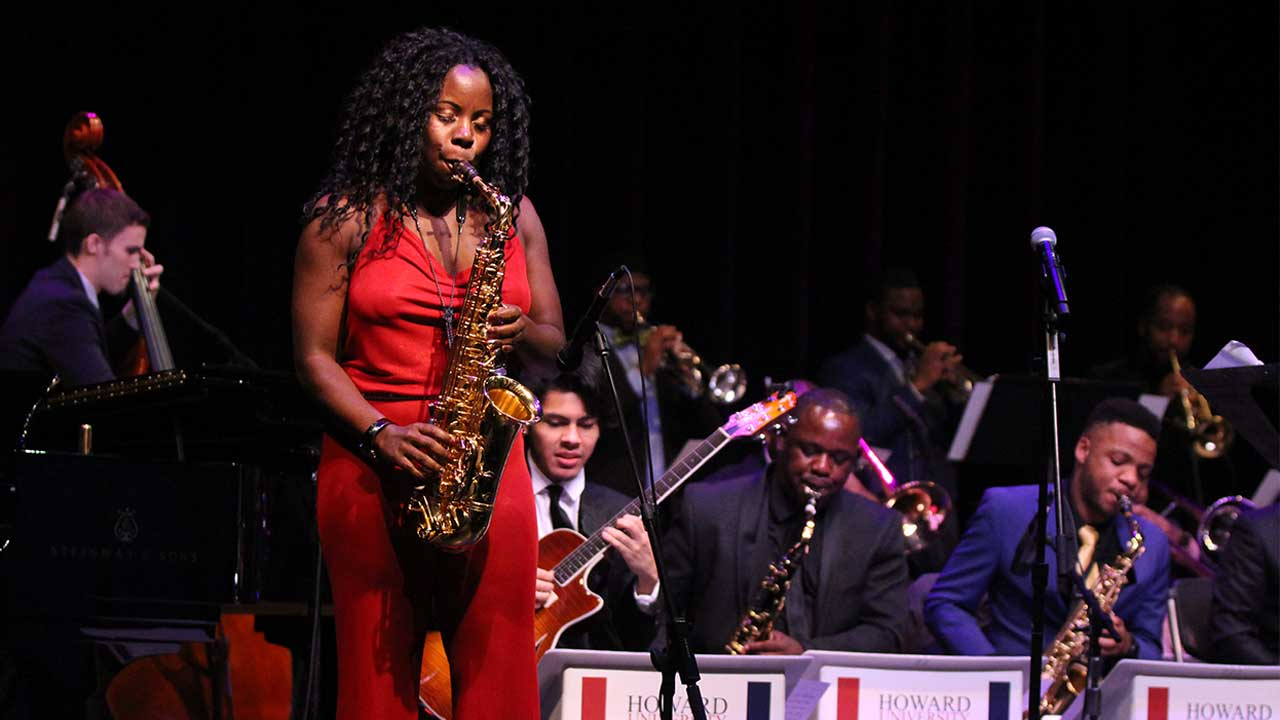 Howard University Jazz Ensemble Featuring Tia Fuller